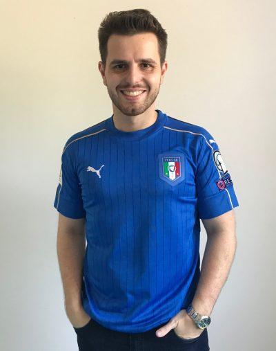"""A sexta camisa da série """"Minhas Camisas"""" é a camisa da Itália 73dbcd86a6814"""